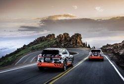 Los prototipos del nuevo Audi e-tron quattro se trasladan a Pikes Peak
