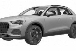 Descubierta nueva y misteriosa versión del Audi Q3 gracias a sus patente