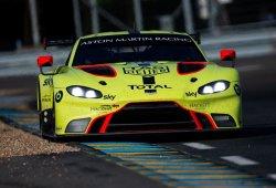 El 'BoP' da más potencia a los Aston Martin en Silverstone