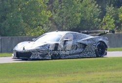 El Corvette C8.R GTE de motor central se deja ver en un test