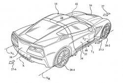 Chevrolet patenta nuevos sistemas de aerodinámica activa para el Corvette