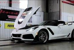 Hennessey ya prueba el nuevo Corvette ZR1 en el banco de potencia