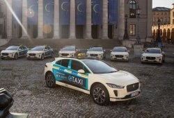 El Jaguar I-Pace será uno de los nuevos taxis de Munich