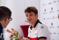 """Leclerc: """"Estoy muy satisfecho con mi evolución"""""""