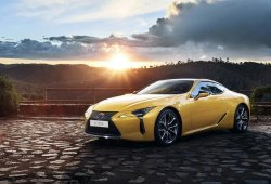 Lexus LC 500h Yellow Edition, un plus de exclusividad para el coupé japonés