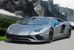 Mansory viste de fibra de carbono al Lamborghini Aventador S