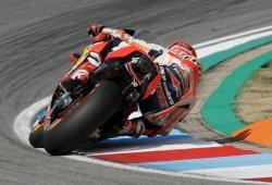 Marc Márquez lidera el test post-GP de MotoGP en Brno