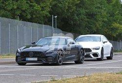 Nuevas fotos espía del Mercedes-AMG GT Coupé 2020 muestran simples cambios
