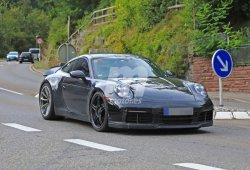 El nuevo Porsche 911 GT3 generación 992 cazado por primera vez