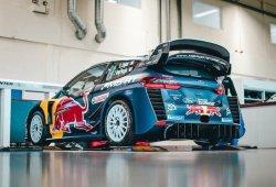 Ogier mantiene la nueva aerodinámica del Fiesta WRC