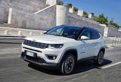 Italia - Julio 2018: Por primera vez el Jeep Compass se mete en el Top 5