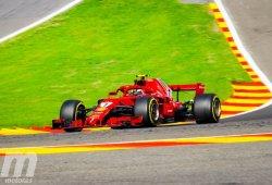 Räikkönen completa el viernes perfecto para Ferrari en Spa