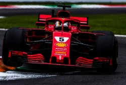 """Vettel: """"El coche funciona y seguimos teniendo el potencial"""""""