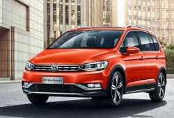 Volkswagen Cross Touran L, el enésimo modelo exclusivo para China