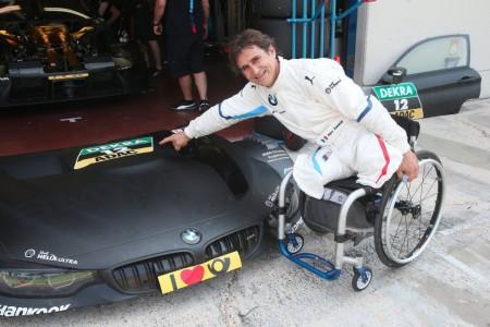 Alex Zanardi realiza casi 300 giros en el test de Vallelunga