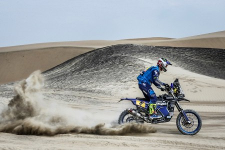 El Atacama Rally es terreno de los 'riders' del Dakar
