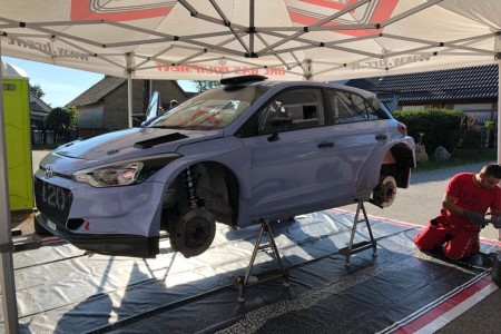 Dani Sordo prueba el Hyundai i20 R5 de cara al Barum Rally