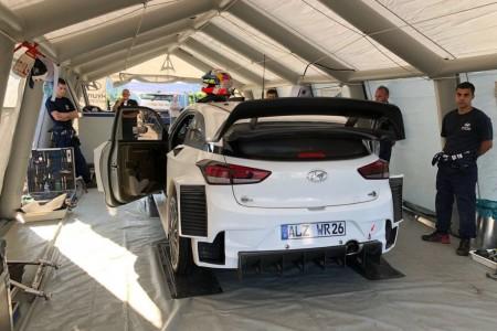 Hyundai inicia los test previos al Rally de Alemania