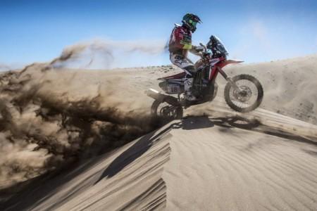 Joan Barreda se retira del Atacama Rally por una caída