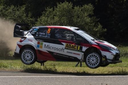 Tänak II de Alemania, el Yaris WRC también gana en asfalto