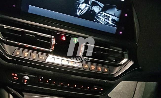 BMW Serie 3 Touring 2019 - foto espía interior