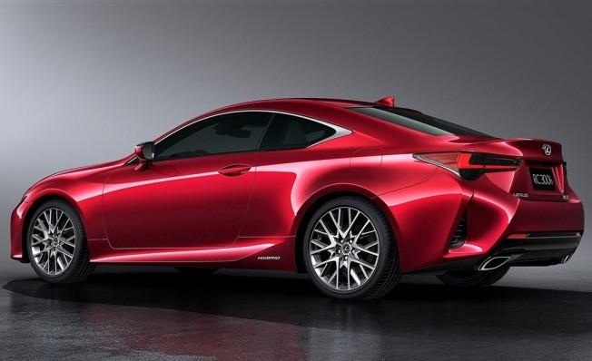 Lexus RC 2019 - posterior