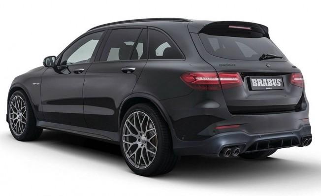 Mercedes-AMG GLC 63 S preparado por Brabus