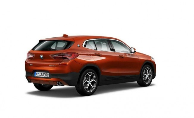 BMW X2 Impulse - posterior
