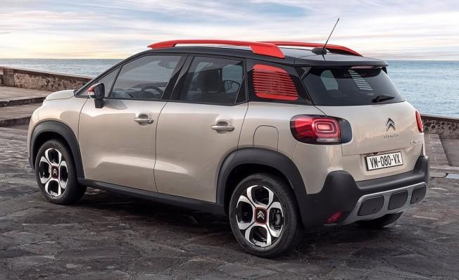 Citroën C3 Aircross 2019 - posterior