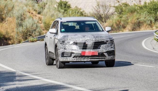Renault Koleos 2019 - foto espía