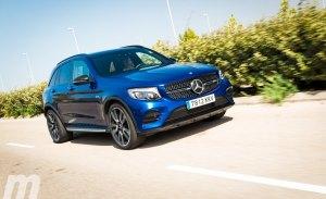 Prueba Mercedes-AMG GLC 43 4MATIC, más potencia que lógica