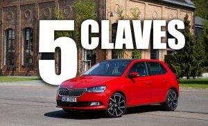 Las 5 claves del nuevo Skoda Fabia 2018, el utilitario checo se pone al día