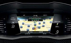 Los Skoda Octavia y Superb estrenan tablero de mandos digital en septiembre