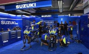 Test privado de Yamaha, Ducati, Suzuki y KTM en Aragón