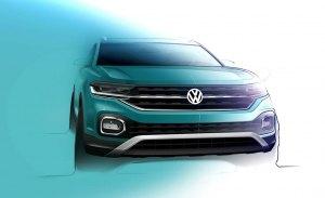 Volkswagen adelanta el interior del nuevo T-Cross, su esperado B-SUV