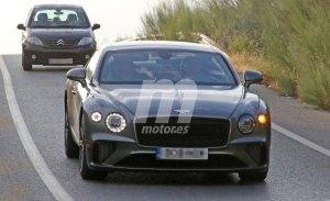 La nueva generación del Bentley Continental GT Speed 2020 vuelve a posar en fotos espía
