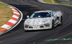 El nuevo Chevrolet Corvette C8 se estrena en la pista de Nürburgring