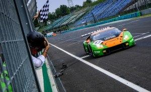 El Lamborghini #63 gana en Hungría, Riberas abandona