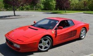Pieza única: el primero de los prototipos del Ferrari 512 TR US-specs