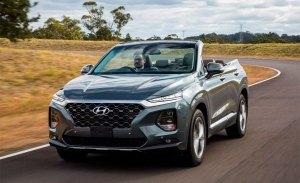 El nuevo Hyundai Santa Fe se convierte en un SUV descapotable de 7 plazas