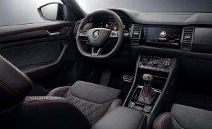 Skoda desvela el interior del Kodiaq RS, la esperada versión deportiva