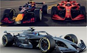 Ross Brawn presenta el concept car para la Fórmula 1 de 2021