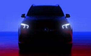 El Mercedes Clase GLE nos muestra sus faros en su último teaser
