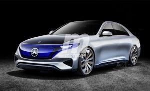Mercedes EQS: el segundo modelo eléctrico de la estrella llegará en 2021
