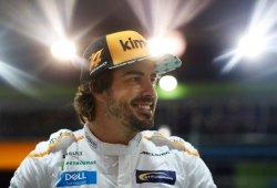 """Alonso: """"Ha sido un buen paso adelante, no hemos cambiado nada en el coche"""""""