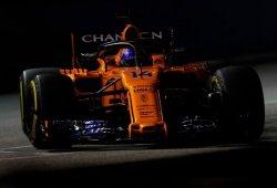 """Alonso, séptimo en Singapur: """"Ha sido una carrera mágica para nosotros"""""""