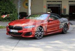 El BMW Serie 8 Cabrio cazado prácticamente al desnudo en la calle