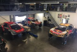 Easy Rally Raid ya tiene sus tres Peugeot 3008 DKR Maxi
