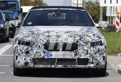 El nuevo BMW Serie 4 Cabrio, cazado en plenas pruebas en tráfico urbano