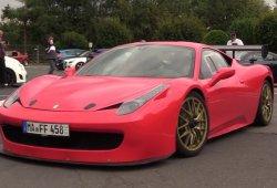 El único Ferrari 458 Challenge de calle tiene más de 700 CV